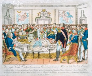 congress of vienna in 1815 ended the napoleonic wars and the turmoil in europe The congress of vienna convened to re-map post-napoleonic europe and prevent the rebuilding of a strong france by february 1815, delegates from the european great powers and several other european countries had, through heated compromises, created a new map of europe.
